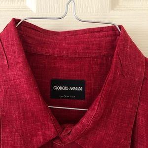 Giorgio Armani Men's Dress Shirt